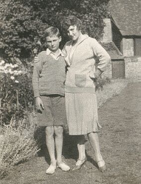 Fay Compton and son